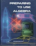 Preparing to use algebra