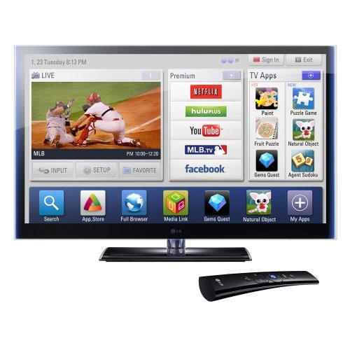 LG Infinia 60PZ750 60-Inch 1080p Active 3D THX Certified Plasma HDTV with Smart TV