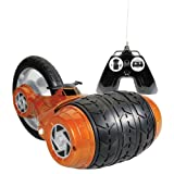 Carro a control remoto Kid Galaxy Hammer Head, color naranja.