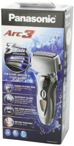 Panasonic 松下ES8103S三刀头干湿两用剃须刀图片