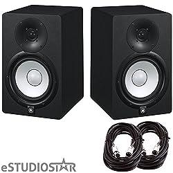 Yamaha HS7 Studio Monitors pair w/ Cables pair from YAMAHA