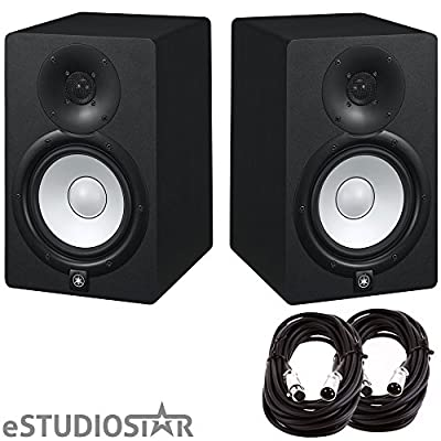 Yamaha HS7 Studio Monitors pair w/ Cables pair from YAMAHA