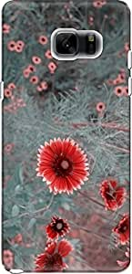 The Racoon Grip hippie daisies dull hard plastic printed back case/cover for Samsung Galaxy Note 7