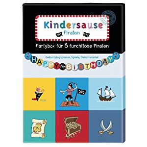 Kindersause Partybox Motiv Piraten