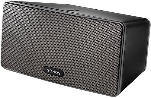 sonos play 3 vielseitiger multiroom smart speaker. Black Bedroom Furniture Sets. Home Design Ideas