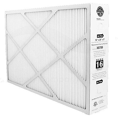 """Heating, Cooling & Air Lennox X8789 MERV 16 Filter - 16"""" x 26"""" x 5"""""""