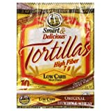 "7"" La Tortilla Factory Whole Wheat Low Carb Tortillas (Regular Size)"