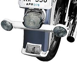 Kuryakyn 2384 Short Rear Turn Signal Bar For Harley