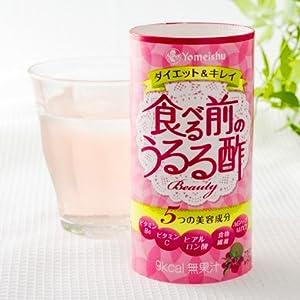 養命酒製造 食べる前のうるる酢Beauty アセロラ&キウイ 125ml×18本