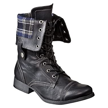 Product Image Women's Mossimo Supply Co. Kenlee Flannel Flip Boots - Black