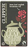 Clipper Organic English Breakfast 125 g (Pack of 6)