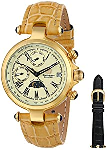 Steinhausen Women's Classic Marquise Automatic Gold Watch