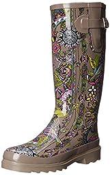 The SAK Women\'s Rhythm Rain Shoe, Sterling Spirit Desert, 8 M US