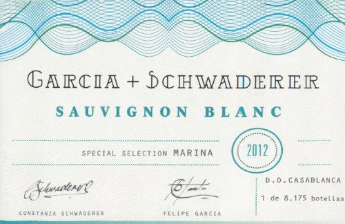 2012 Garcia Schwaderer Sauvignon Blanc 750 Ml