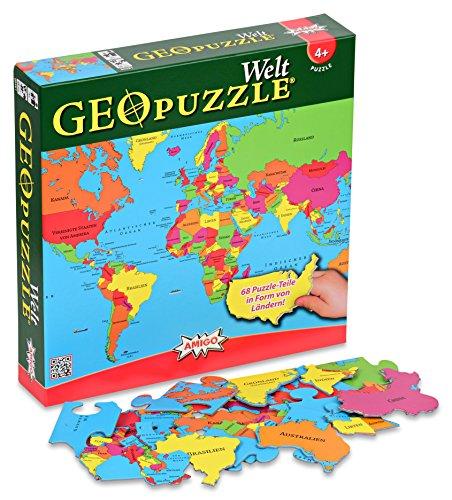 Geotoys GeoPuzzle World (German)