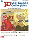 30 Easy Spanish Guitar Solos Gtr Book/Cd