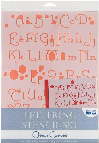 lettering-stencil-4-piece-set-pulizia-curve