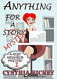 Anything For A Mystery by Cynthia Hickey ebook deal
