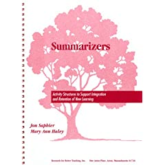 Summarizers: Activity Structures to Support Integration and Retention of New Learning