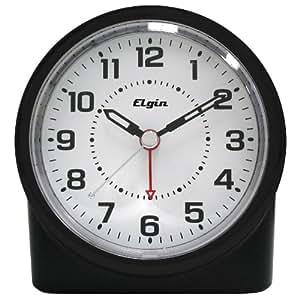 elgin 3675e battery operated analog alarm clock home kitchen. Black Bedroom Furniture Sets. Home Design Ideas