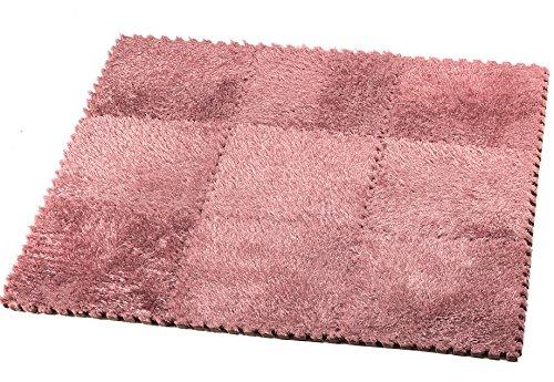 hemingweigh-fuzzy-area-rug-9-fluffy-carpet-tiles-for-kids-ideal-for-nursery-decor-baby-room-playroom