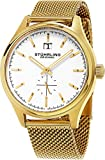 Stuhrling Original Men's 790.04 Symphony Gold-Tone Stainless Steel Watch Rating