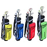 Young Gun SGS Junior Eagle Golf Set Red AGE 9-11