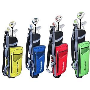 Young Gun SGS Junior Eagle Golf Set Blue AGE 6-8