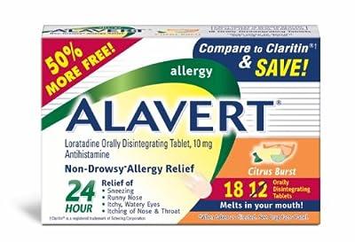 Alavert Quick Dissolving Tablets