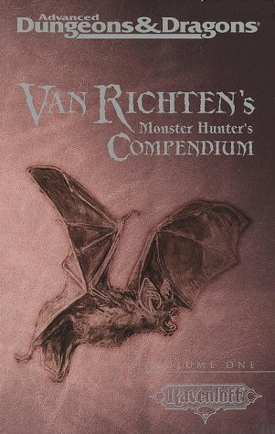 Van Richten's Monster Hunter's Compendium, Vol One (AD&D 2nd Ed Fantasy Roleplaying, Ravenloft)