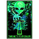Take Me To Your Dealer College Blacklight Poster