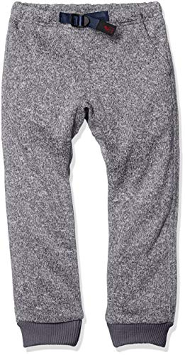 [グラミチ] Kids Bonding Knit Fleece Rib Pants キッズボンディングニットフリースリブパンツ Gkp-18f201 Grey×navy 日本 120 (日本サイズ120 相当)