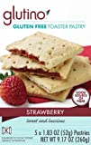 Glutino Gluten Free Toaster Pastry, Strawberry, 5 Count