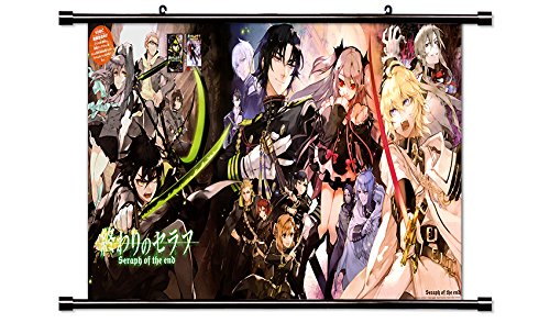 Seraph of the End (Owari no Seraph) Anime Fabric Wall Scroll Poster (32x41) Inches