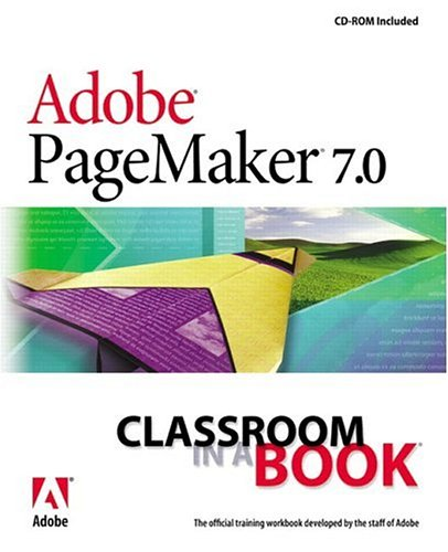 Adobe R PageMaker R 7 0 Classroom in a Book