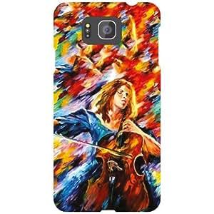 Samsung Galaxy Alpha G850 Back Cover - Flowers Designer Cases