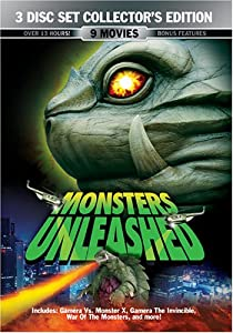 Monsters Unleashed (9 Movies / 3 Discs)