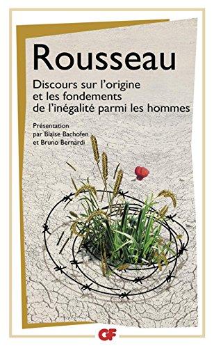 Jean-Jaques Rousseau - Discours sur l'origine et les fondements de l'inégalité parmi les hommes