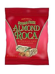 Sugar Free Almond Roca Hanging Bag (3 oz) - Case of 12 Bags