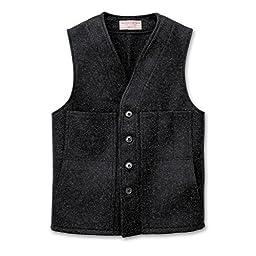 Mackinaw Wool Vest - Alaska Fit - Charcoal - Size 44