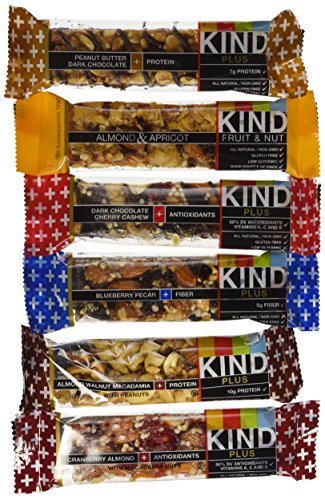 KIND Fruit and Nut Protein and Fiber Flavor Bars, 1.4