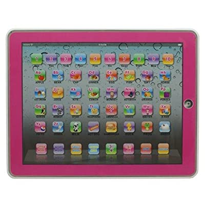 Y-pad Ypad Pink Color English Computer Table Learning Education Machine Tablet Toy Gift For Kids Children by Ypad