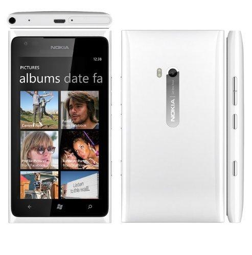 NOKIA LUMIA 900 IN WHITE 16GB UNLOCKED GSM - (3G HSDPA 850/900/1900/2100) (Nokia Lumia 900 Unlocked compare prices)