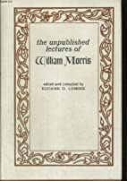 Unpublished lectures of William Morris by…