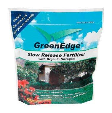 Greenedge Slow Release Fertilizer 6-3-2 1000 Sq. Ft. Granules Organic 15 Lb.