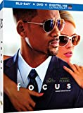 Focus [Blu-ray + Digital Copy] (Bilingual)