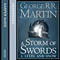 A Storm of Swords (Part One) - Steel and Snow: Book 3 of A Song of Ice and Fire