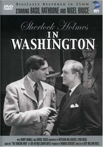 Sherlock Holmes in Washington Cover