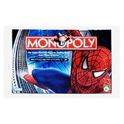 Monopoly Spider-Man by Hasbro Canada