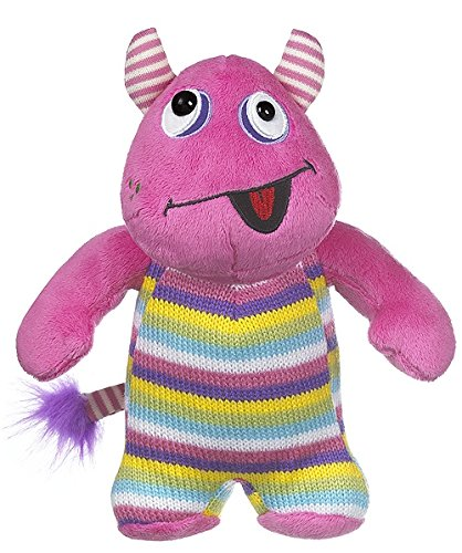 "Ganz 8"" Knitwits Plush Toy, Pink - 1"
